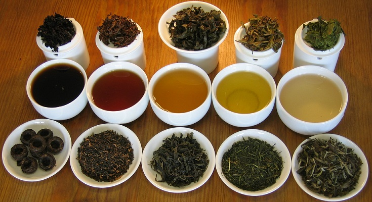Types of all herbal teas and their health benefits