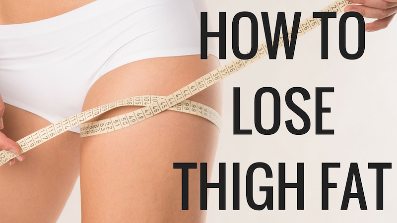 Simple tips & exercises to lose thigh fat at home