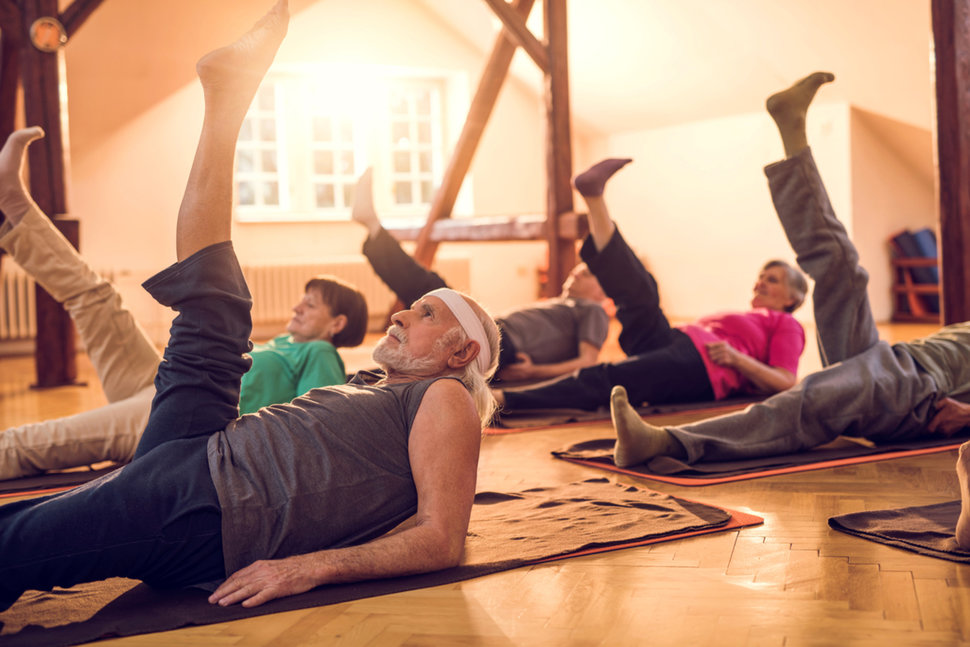 Easy Exercises & Yoga For Older People